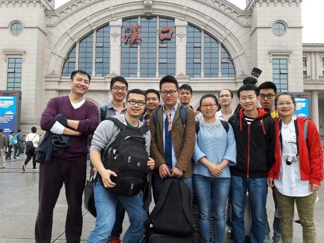 集体参加武汉热电会议
